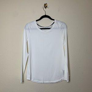 Beachbody White Long Sleeve Energy T Shirt